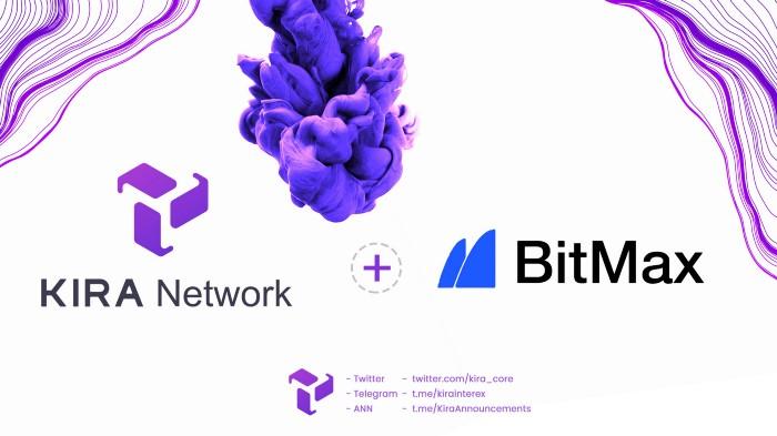 KIRA và BitMax thông báo niêm yết chính thức cho token KEX!