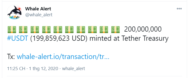 تم سك حبل إضافي بقيمة 200 مليون دولار أمريكي
