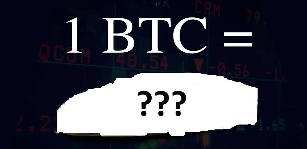 Ulinganisho wa wakati: Na 1 Bitcoin unaweza kununua utopia!