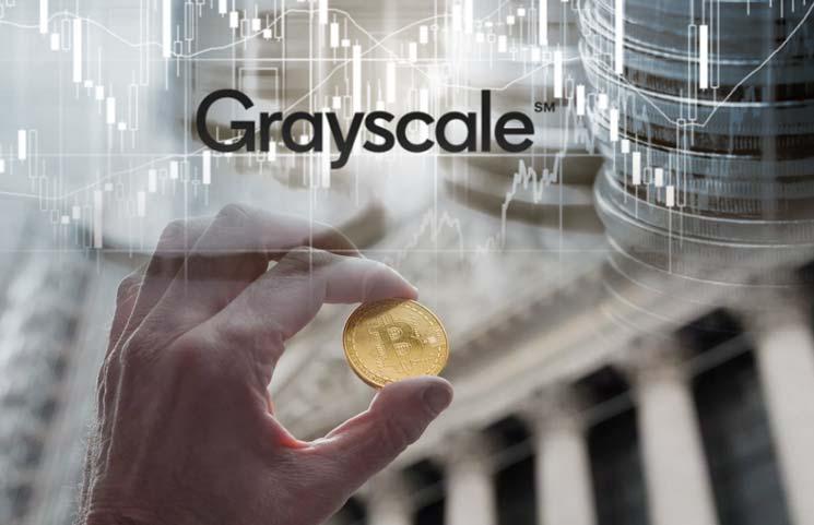 グレイスケールは、採掘された量の18倍でビットコインを買い戻し続けています