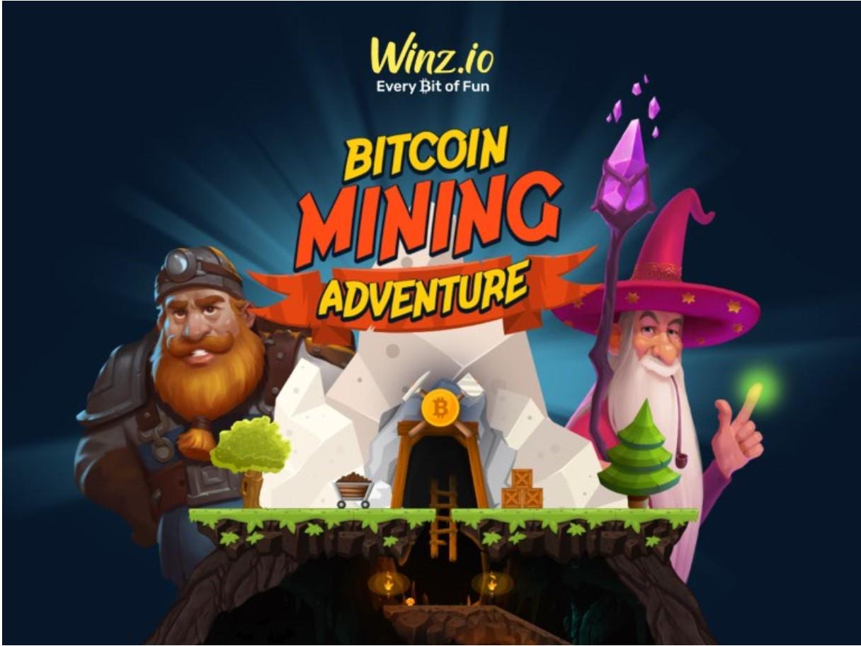 """تطلق Winz.io """"مغامرة تعدين Bitcoin"""" مع جائزة كبرى قدرها 1 BTC"""
