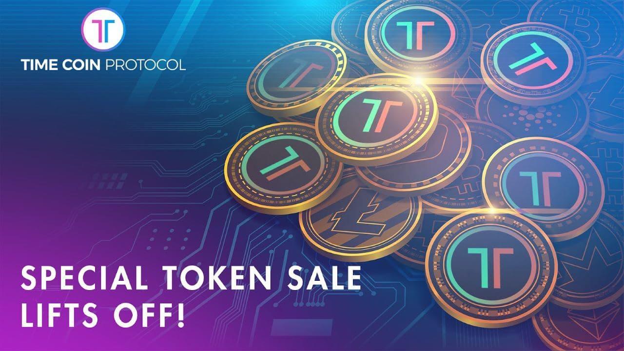 Programa ng espesyal na pagbebenta ng token ng TimeCoin