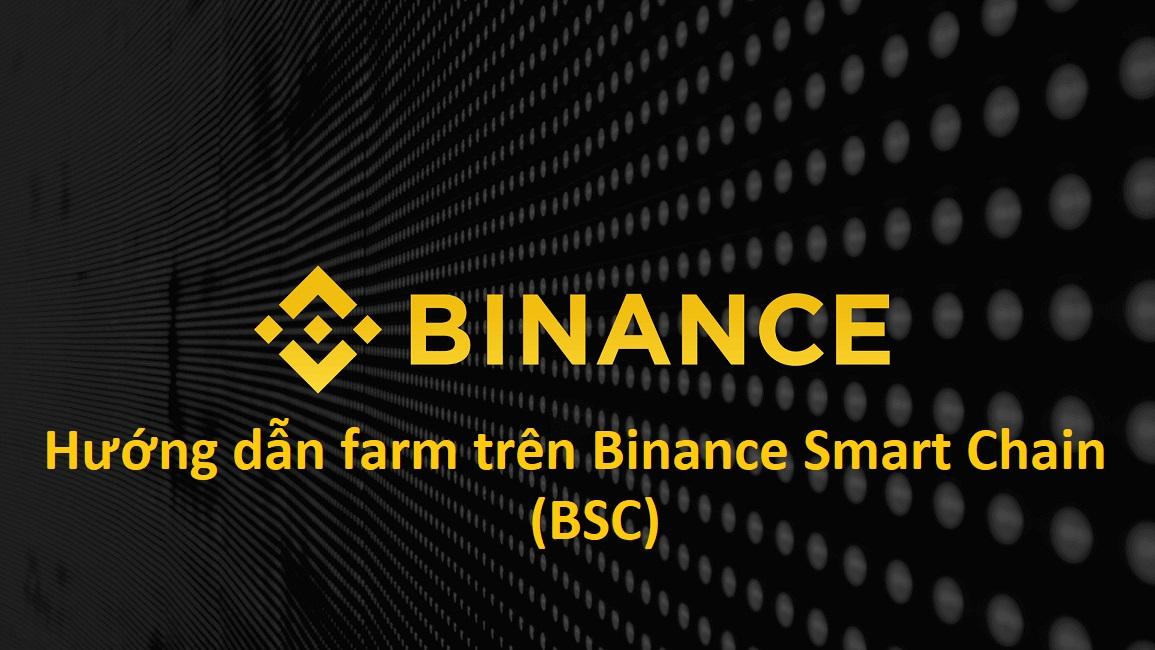 Hướng dẫn farm trên Binance Smart Chain (BSC) A-Z