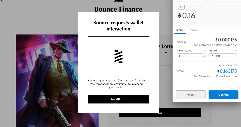 Bounce Lottery