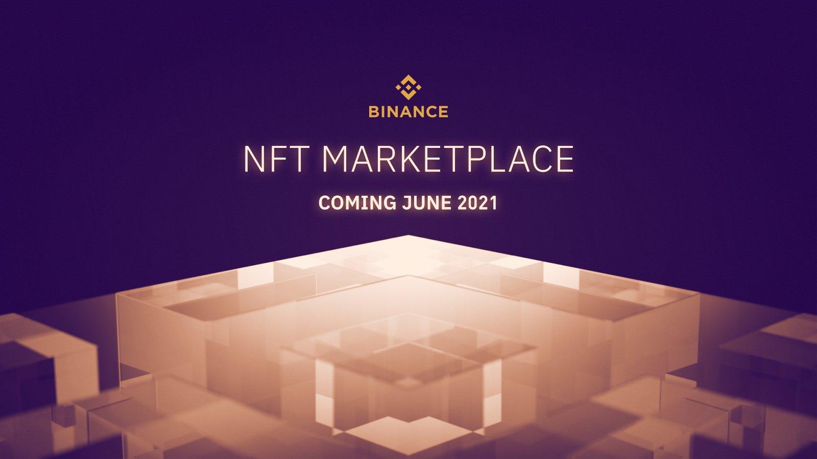 Binance își va lansa propria piață NFT în iunie