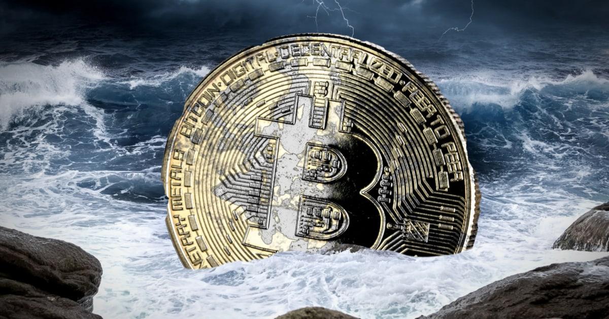 """Gli indicatori tecnici di Bitcoin diventano """"orribili"""" quando il prezzo scende sotto i 54K e due importanti gruppi di balene"""