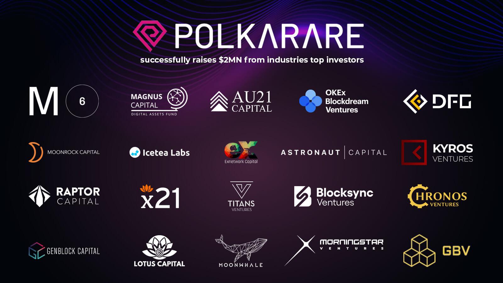 PolkaRare Investors