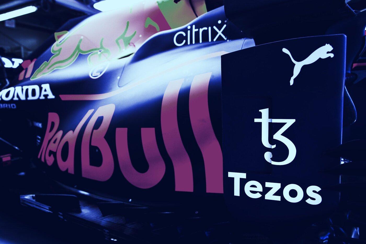Red Bull Racing Tezos