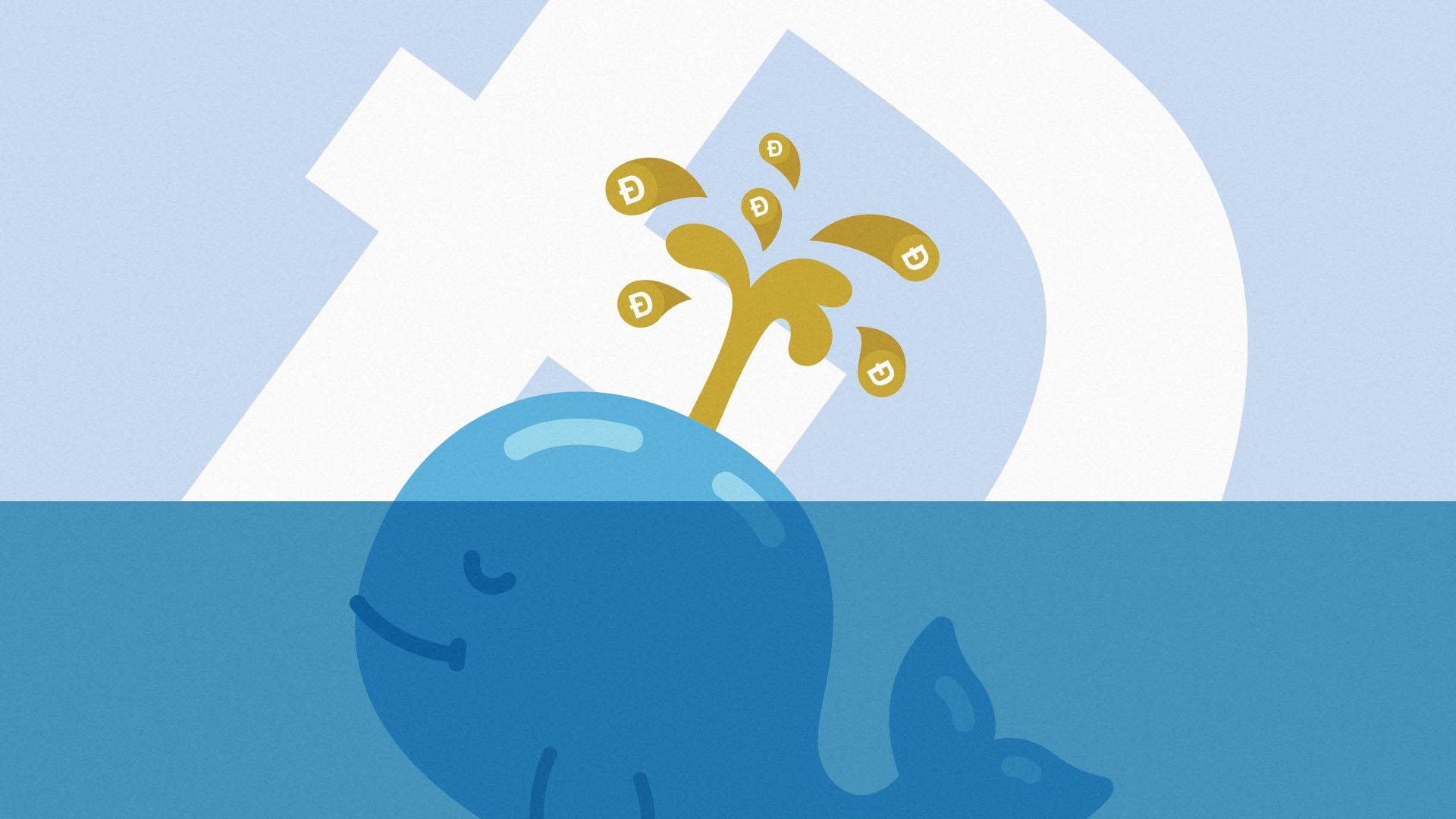 Hoạt động của cá voi Dogecoin chậm lại khi hàng tỷ đô la rời khỏi cuộc chơi