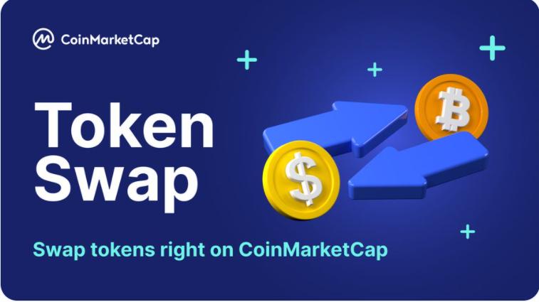 CoinMarketCap hỗ trợ Swap Token ERC-20