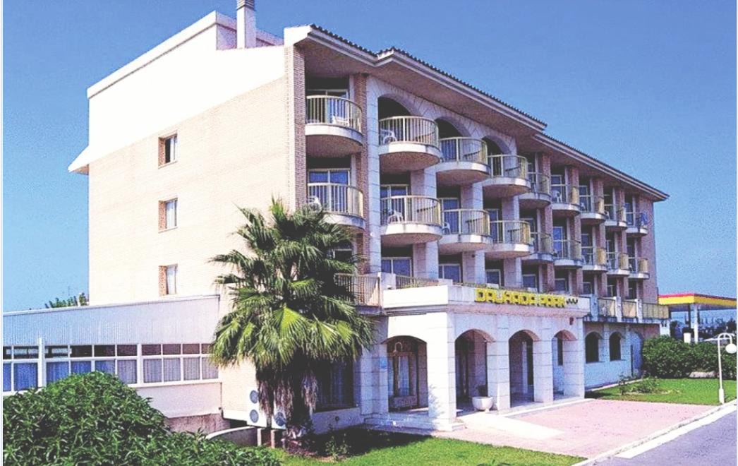 Khách sạn Daurada Park khi còn kinh doanh.