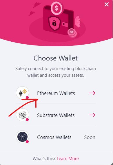 ethereum wallet - stake kylin