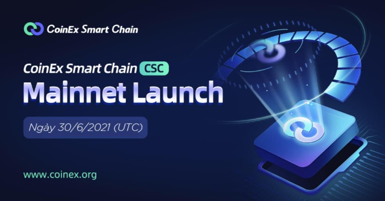 CoinEx Smart Chain chính thức ra mắt mainnet