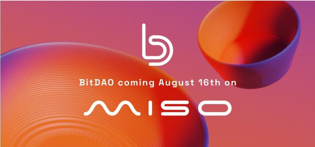 BitDAO hợp tác cùng Sushi MISO ra mắt token BIT